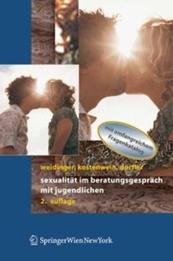 Dörfler, Daniela - Sexualität im Beratungsgespräch mit Jugendlichen, ebook