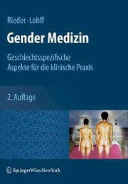Rieder, Anita - Gender Medizin, ebook