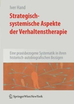Hand, Iver - Strategisch-systemische Aspekte der Verhaltenstherapie, ebook