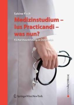 Fisch, Sabine - Medizinstudium — Ius Practicandi — was nun?, ebook