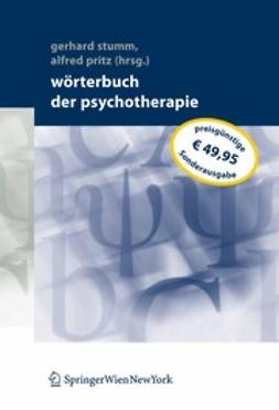 Pritz, Alfred - Wörterbuch der Psychotherapie, ebook