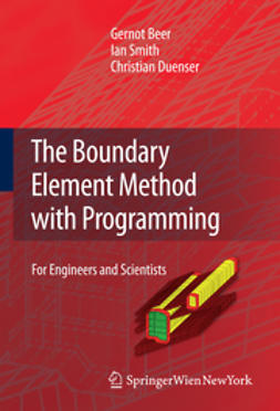 Beer, Gernot - The Boundary Element Method with Programming, ebook