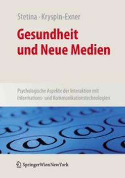 Stetina, Birgit U. - Gesundheit und Neue Medien, ebook