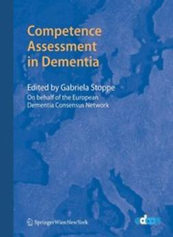 Stoppe, Gabriela - Competence Assessment in Dementia, ebook