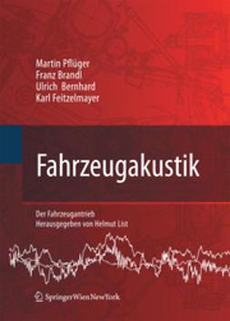 Martin, Pflüger - Fahrzeugakustik, ebook