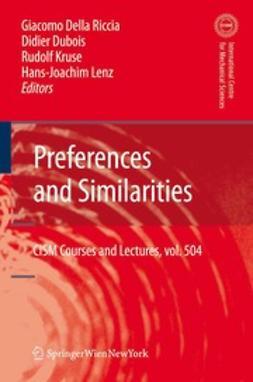 Riccia, Giacomo - Preferences and Similarities, ebook
