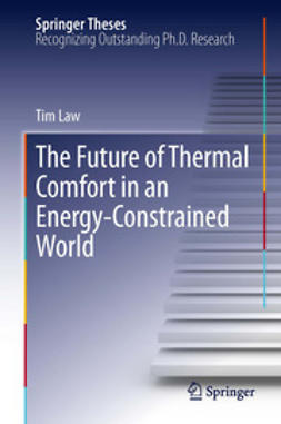 Law, Tim - The Future of Thermal Comfort in an Energy- Constrained World, e-bok