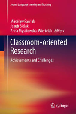 Pawlak, Mirosław - Classroom-oriented Research, e-bok