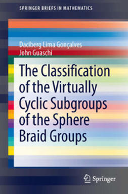 Goncalves, Daciberg Lima - The Classification of the Virtually Cyclic Subgroups of the Sphere Braid Groups, ebook