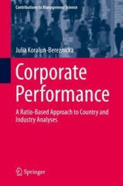 Koralun-Bereźnicka, Julia - Corporate Performance, ebook