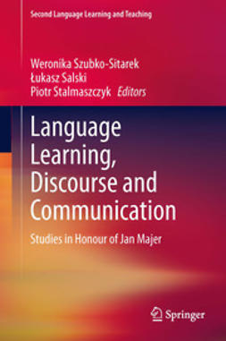 Szubko-Sitarek, Weronika - Language Learning, Discourse and Communication, e-kirja