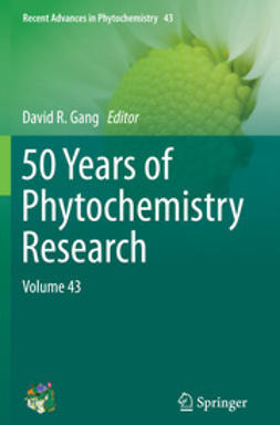 Gang, David R. - 50 Years of Phytochemistry Research, ebook