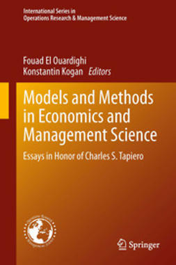 Ouardighi, Fouad El - Models and Methods in Economics and Management Science, ebook