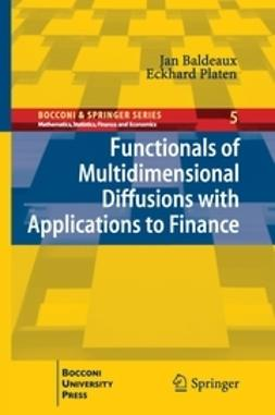 Baldeaux, Jan - Functionals of Multidimensional Diffusions with Applications to Finance, ebook