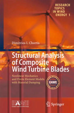 Chortis, Dimitris I - Structural Analysis of Composite Wind Turbine Blades, ebook
