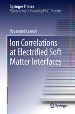 Nouamane, Laanait - Ion Correlations at Electrified Soft Matter Interfaces, e-kirja