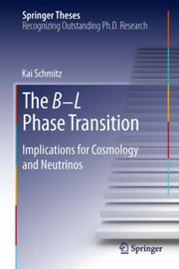 Schmitz, Kai - The B−L Phase Transition, ebook