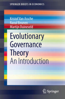Kristof, Van Assche - Evolutionary Governance Theory, ebook