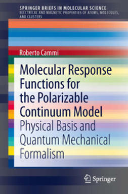 Cammi, Roberto - Molecular Response Functions for the Polarizable Continuum Model, e-kirja