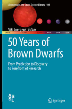 Joergens, Viki - 50 Years of Brown Dwarfs, ebook
