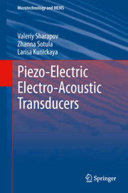 Sharapov, Valeriy - Piezo-Electric Electro-Acoustic Transducers, ebook