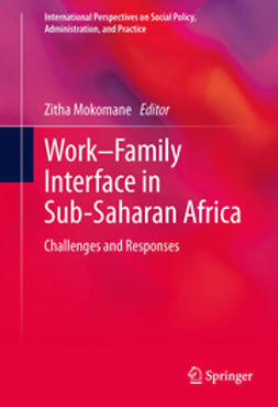 Mokomane, Zitha - Work–Family Interface in Sub-Saharan Africa, ebook