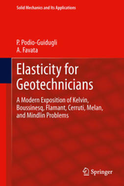 Podio-Guidugli, Paolo - Elasticity for Geotechnicians, ebook