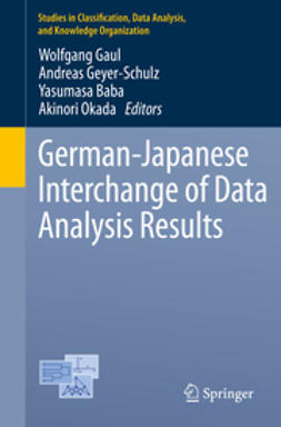 Gaul, Wolfgang - German-Japanese Interchange of Data Analysis Results, ebook