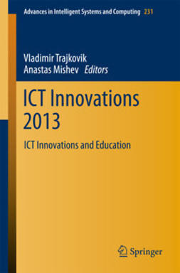 Trajkovik, Vladimir - ICT Innovations 2013, ebook