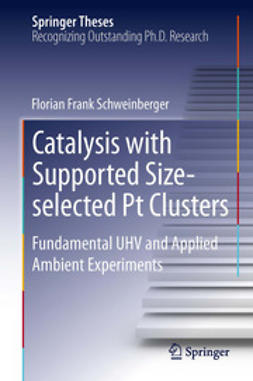 Schweinberger, Florian Frank - Catalysis with Supported Size-selected Pt Clusters, e-bok