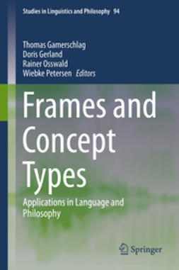 Gamerschlag, Thomas - Frames and Concept Types, ebook