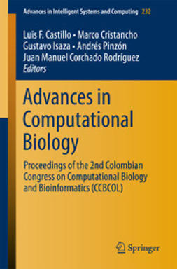 Castillo, Luis F. - Advances in Computational Biology, e-bok