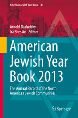 Dashefsky, Arnold - American Jewish Year Book 2013, ebook