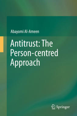 Al-Ameen, Abayomi - Antitrust: The Person-centred Approach, ebook