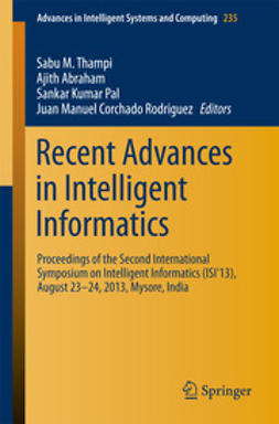 Thampi, Sabu M. - Recent Advances in Intelligent Informatics, ebook