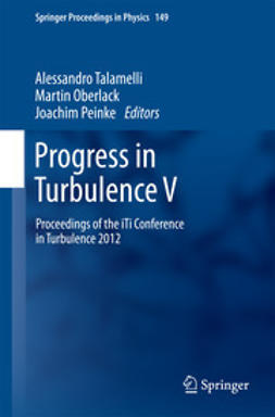 Talamelli, Alessandro - Progress in Turbulence V, ebook