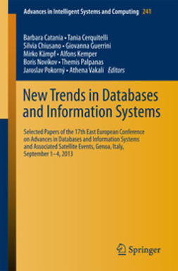 Catania, Barbara - New Trends in Databases and Information Systems, ebook