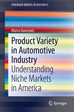 Guerzoni, Marco - Product Variety in Automotive Industry, ebook
