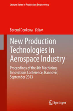 Denkena, Berend - New Production Technologies in Aerospace Industry, e-kirja