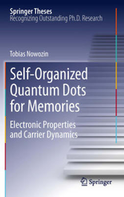 Nowozin, Tobias - Self-Organized Quantum Dots for Memories, e-kirja