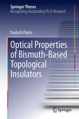 Pietro, Paola Di - Optical Properties of Bismuth-Based Topological Insulators, ebook