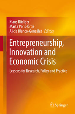 Rüdiger, Klaus - Entrepreneurship, Innovation and Economic Crisis, e-bok