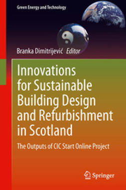 Dimitrijević, Branka - Innovations for Sustainable Building Design and Refurbishment in Scotland, ebook