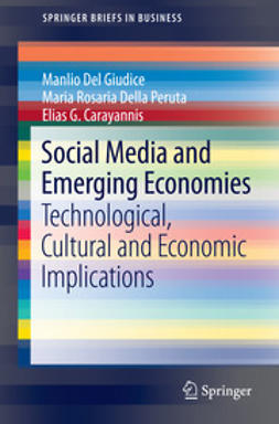 Giudice, Manlio Del - Social Media and Emerging Economies, ebook