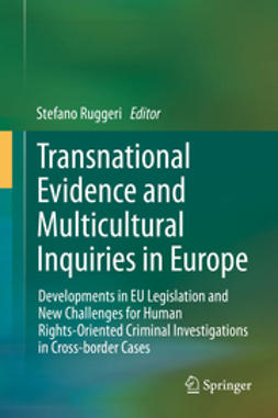 Ruggeri, Stefano - Transnational Evidence and Multicultural Inquiries in Europe, ebook