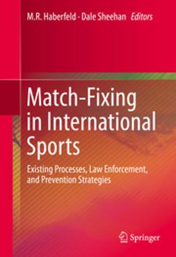 Haberfeld, M.R. - Match-Fixing in International Sports, ebook