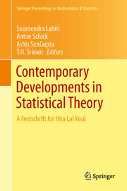 Lahiri, Soumendra - Contemporary Developments in Statistical Theory, e-bok