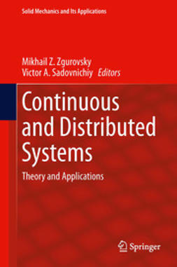 Zgurovsky, Mikhail Z. - Continuous and Distributed Systems, ebook