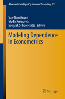 Huynh, Van-Nam - Modeling Dependence in Econometrics, ebook