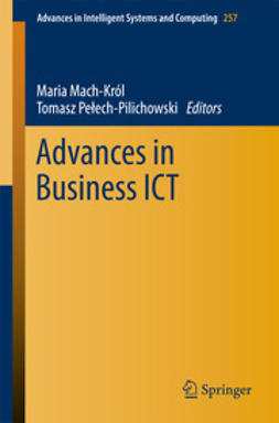 Mach-Król, Maria - Advances in Business ICT, ebook